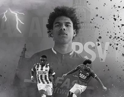 Matchday Poster PSV-AZ