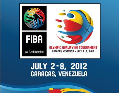 Logo FIBA Preolímpico de baloncesto Caracas 2012