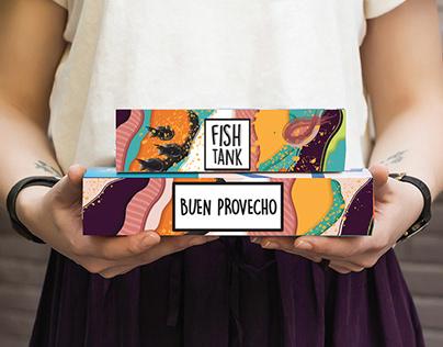 Fish Tank Sushi Bar. Branding & Packaging