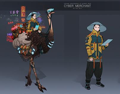 Cyber Merchant concept