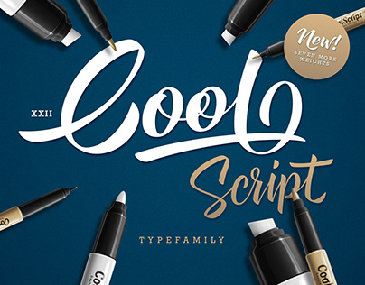 XXII CoolScript - Font Family