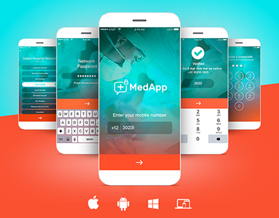 Medical App Ux/Ui Design Concept