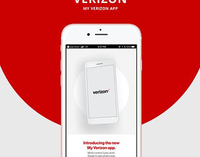 My Verizon App Redesign