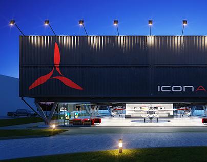 ICON AIRCRAFT Showroom & Flight Training Center