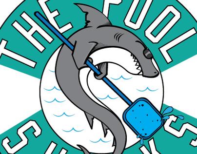 The Pool Sharks Logo