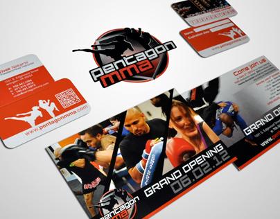Pentagon MMA Branding