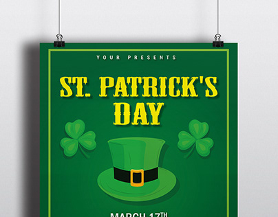 St Patrick's Day Poster - FREE