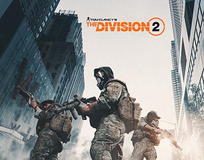 Marketing Art - The Division 2 fun artwork