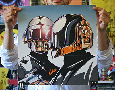 DAFT PUNK Limited Edition Prints