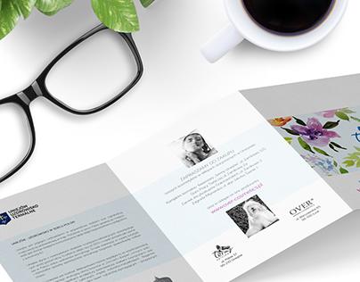 Kosmetyki termalne- broszury / stoisko