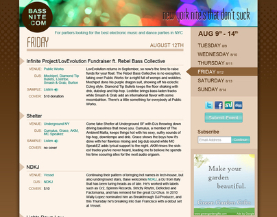 Web Site Examples