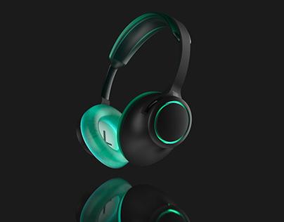 Concept Headphone Renderings