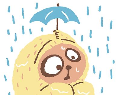 Illustration / Rain day