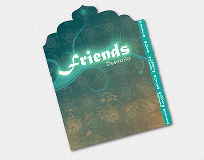 Friends Sheesha Bar Menu