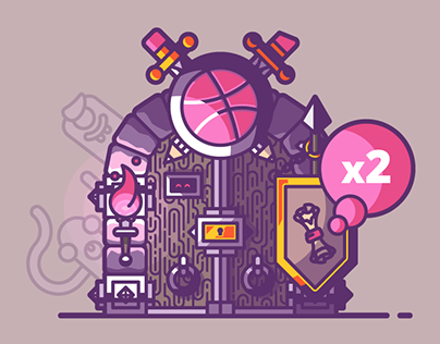 Dribbble dungeon