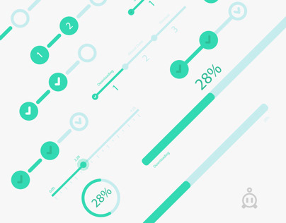 Different types of UI Progress Bars