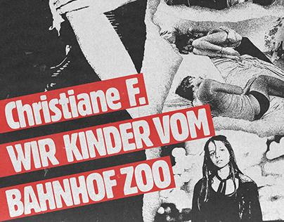 Christiane F. / WIR KINDER VOM BAHNHOF ZOO Poster
