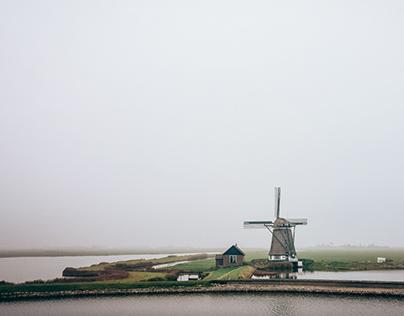 Dutch landscapes II: Below sea level