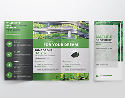 Green Trifold Brochure