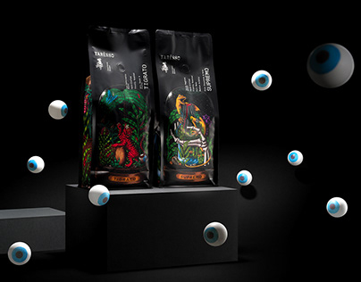 Taresso Blends Packaging