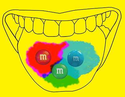 m&m advertisement