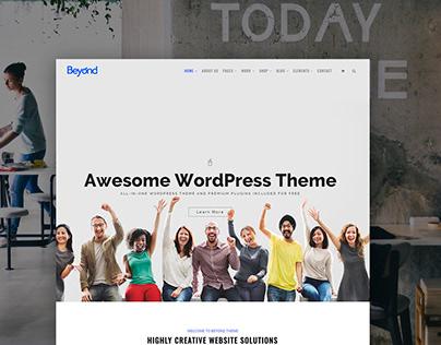 Beyond WordPress Theme - Multi-Purpose Site Builder