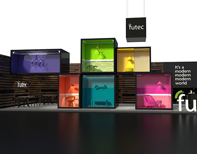 Futec Booth - Building Show Egypt 2015 @ Mental Flame