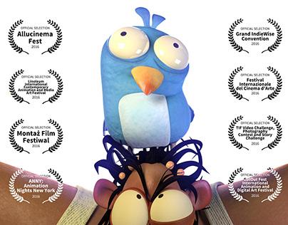 3D Animation shorts Bird Bird (2015)
