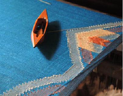 A weavers dream, wearer's Pride- Jamdani weaving
