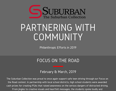 David T. Fischer and Partnering With Community