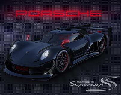 3D Porsche concept