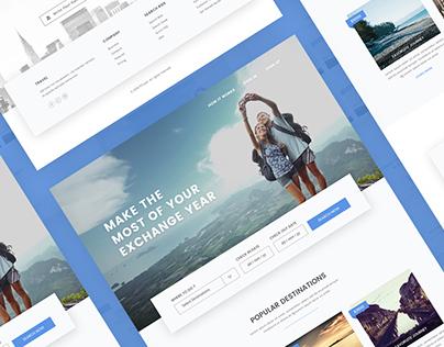 Travel Web and App Design