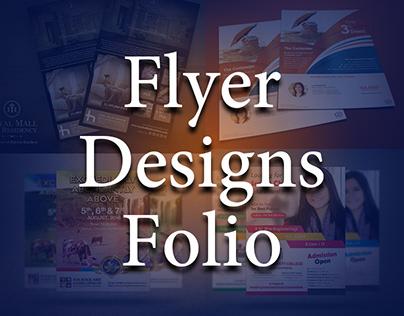 Flyer Designs - Folio