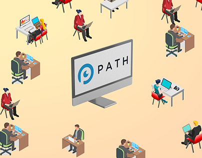 Path Start-up Infographics / Explainer