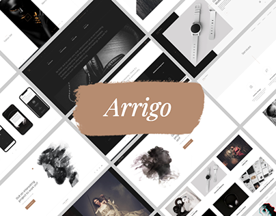 Arrigo – Contemporary and Creative WordPress Theme