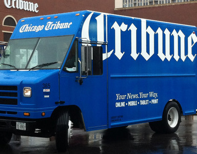 Chicago Tribune & RedEye Trucks