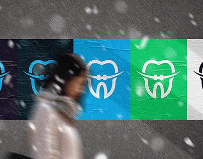 Dr. Mohamed Salah   Dentist Logo redesign