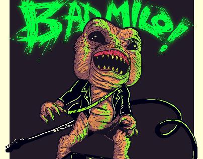 Bad milo (2013) movie poster - (no oficial)