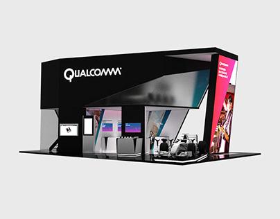 Qualcomm Interactive Booth - Futurecom 2015