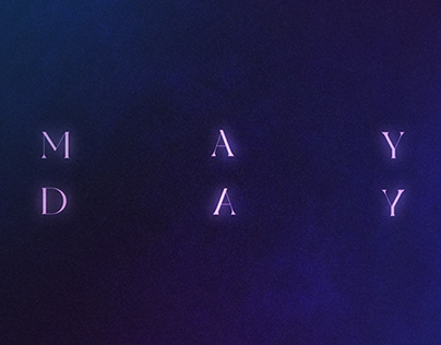 """COVER ART   """"Mayday"""" Cice"""
