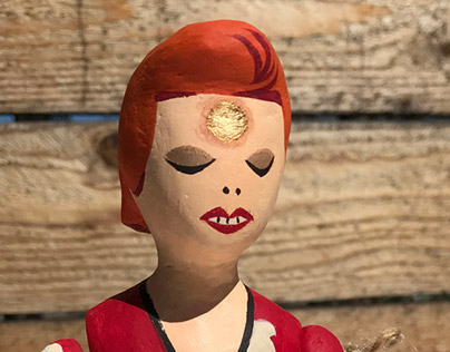 Ziggy Stardust Figure