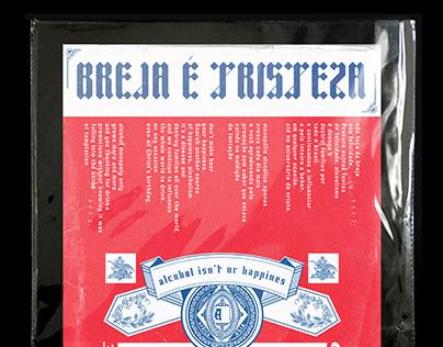 BREJA É TRISTEZA - Poster Ideia