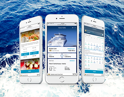 Tallink Silja - Mobile Reservation & Customer Journey