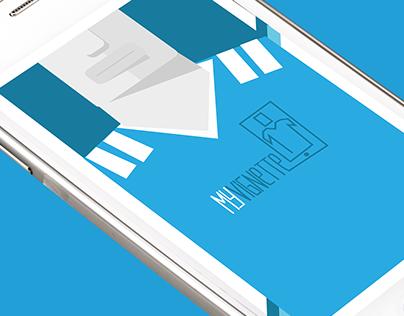 Application mobile MyVignette (graphisme)