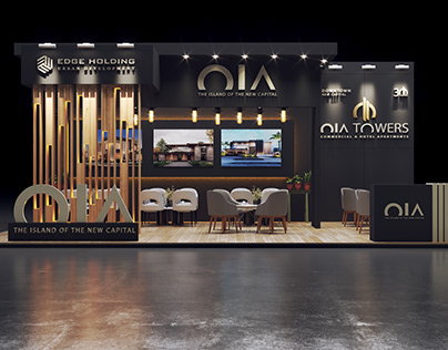 OIA - UAE - exhibition stand booth design