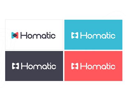 Homatic Logo Branding