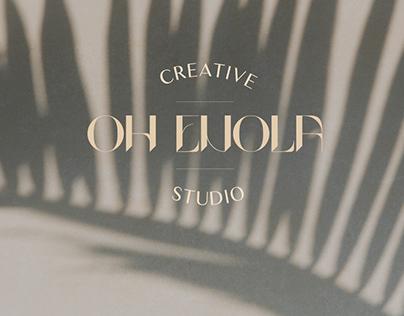 Oh Enola Creative Studio re-branding