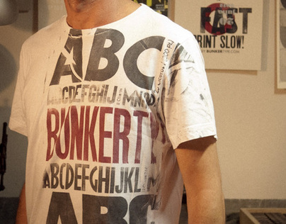 """BunkerType T-Shirts"""