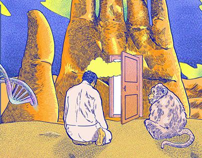Manos y monos