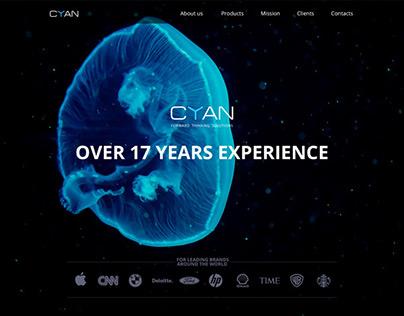 Web-site for CYAN LTD
